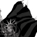 No Trespassing of Liberty - Detail